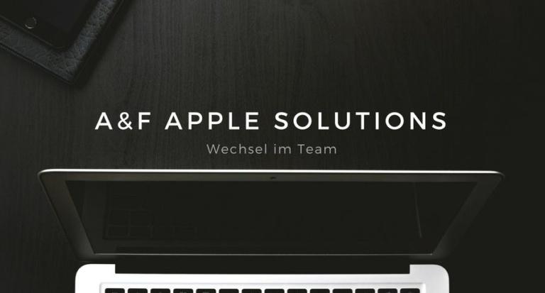 a&f Apple Solutions: Ihr Ansprechpartner für Apple im Business-Umfeld