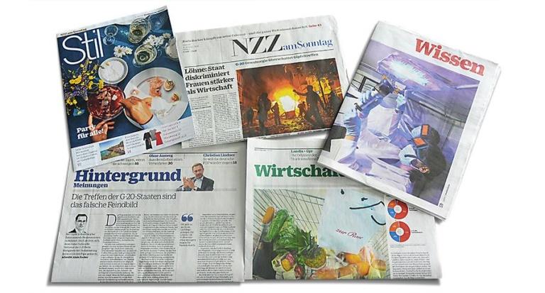 Meilenstein im Projekt «Neue Zürcher Zeitung»