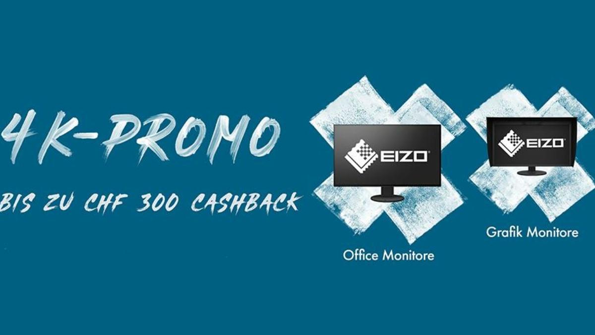 EIZO 4K-Cashbackpromotion