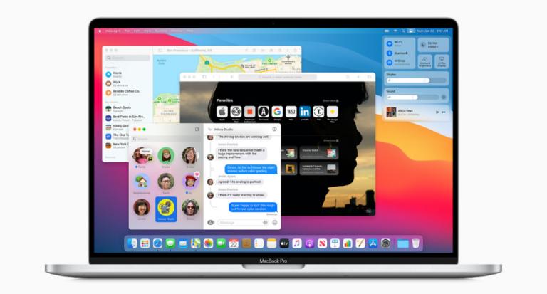 Apple macOS 11 Big Sur – Interface-Design und neuer Prozessor