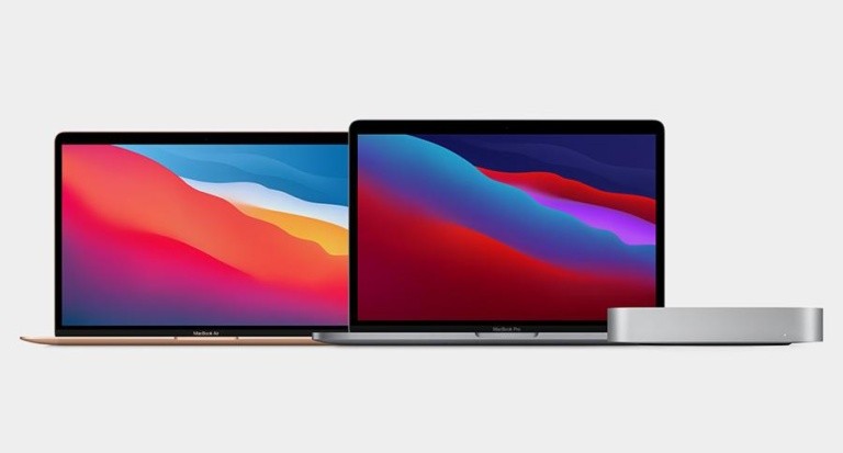 Apple Macs jetzt mit ARM-Prozessor M1
