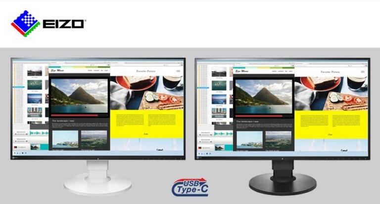 EIZO-FlexScan-Serie: Neuer Monitor kommt mit USB Typ-C Anschluss