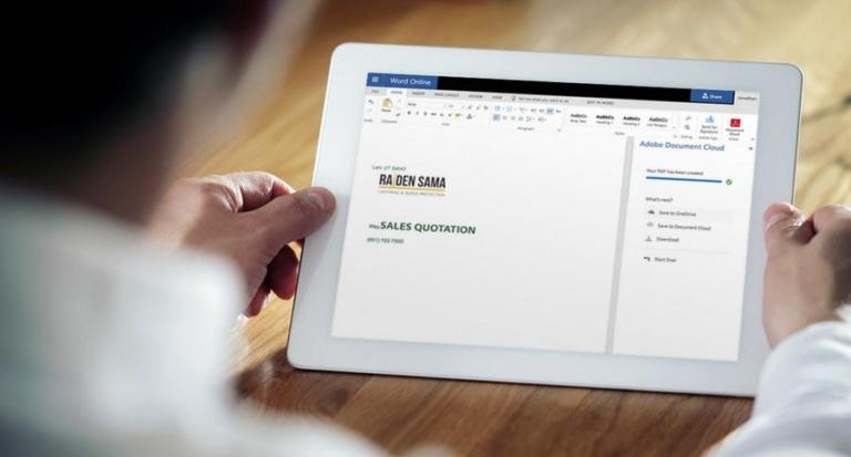 Noch produktiver arbeiten mit Acrobat DC und Microsoft Office 365