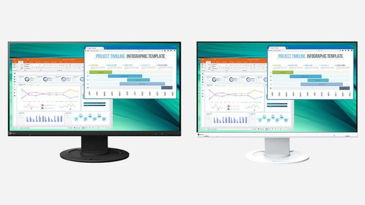 Neu: Der EIZO FlexScan-Monitor EV2460 mit 23,8 Zoll