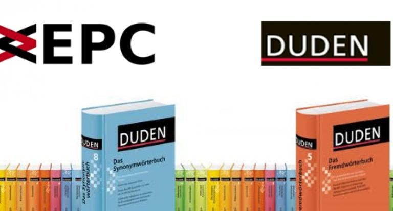 Duden-Korrekturlösungen bestehen durch EPC weiter