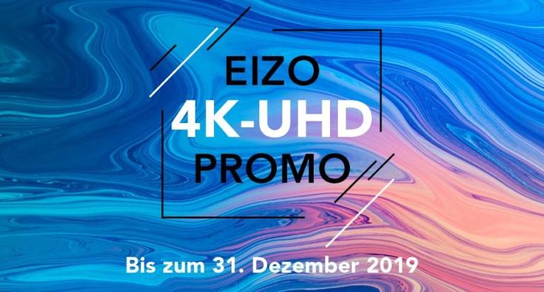 EIZO 4K-Promotion – Profitieren Sie von unschlagbaren Preisen