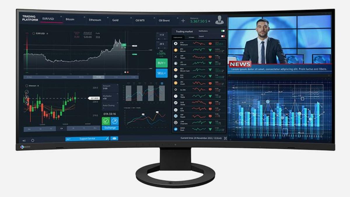 FlexScan EV3895 – Der ultrabreite Office-Monitor von EIZO