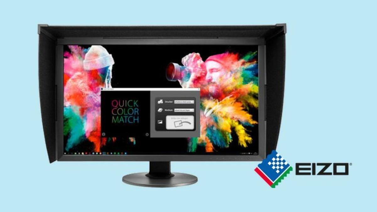 Farbmanagement für präzise Druckergebnisse | EIZO Quick Color Match