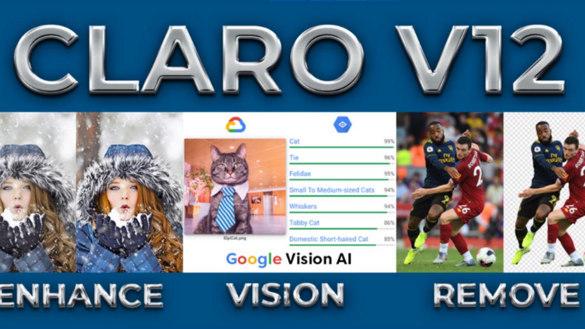 Elpical Claro – Neues Release V12 fokussiert auf Enhance, Vision und Remove