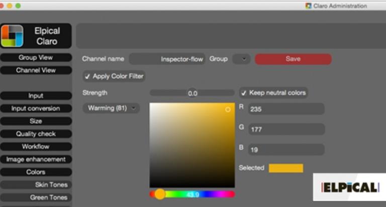Version 10 der Bildomptimierungssoftware Claro