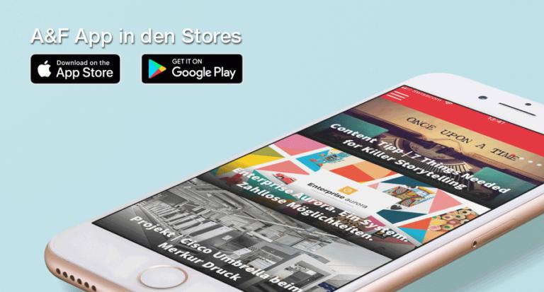 A&F App: Ab heute in den App-Stores erhältlich