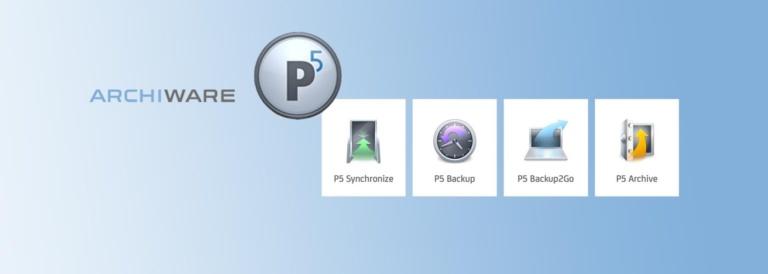 Backup und Archivierung: Archiware P5 jetzt auch für Synology