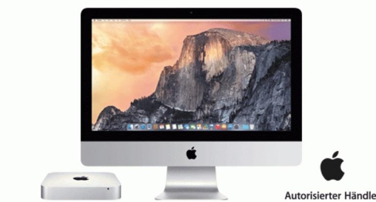 iMac mit 5K-Display: Der Pixel-Gigant – Mac mini: Der Leistungsstarke