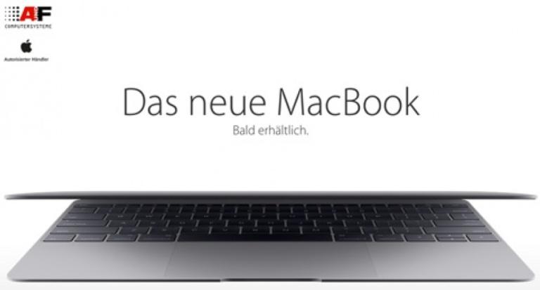 Fein und schick: Das neue MacBook