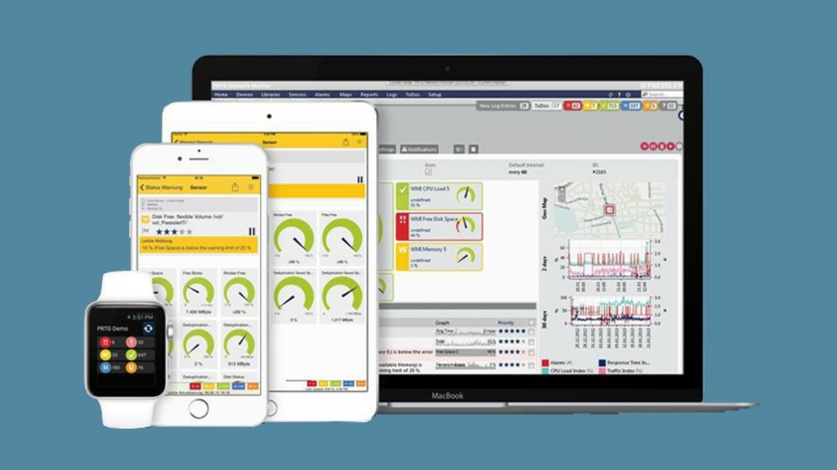Paessler PRTG – ICT Monitoring