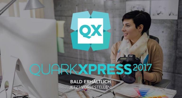 QuarkXPress 2017 – Die Grafiksoftware für Kreativprofis