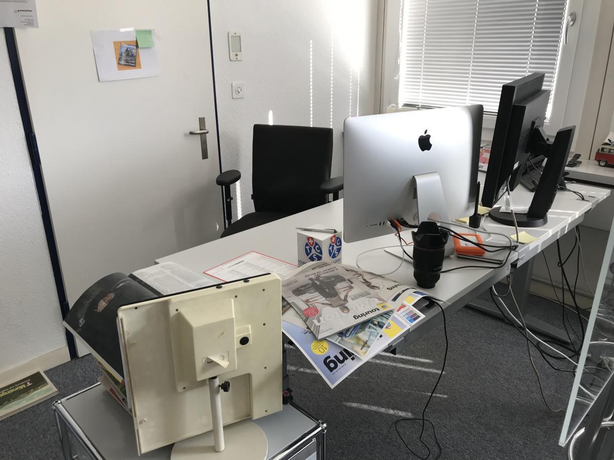 Ein Blick in die heutigen Redaktionsräume des Touring