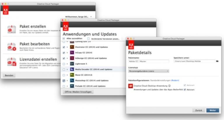 Adobe CC – Bequem Software-Pakete schnüren und zentral ausrollen