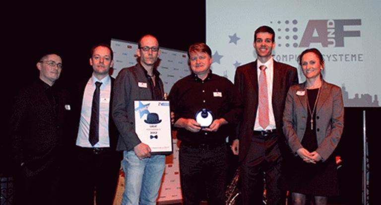 EMC Swiss Affiliate Partner 2012: A&F erhält Auszeichnung
