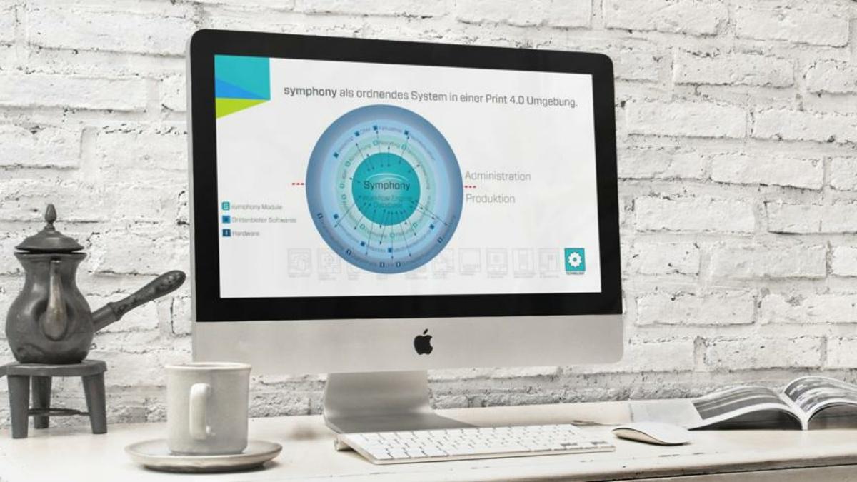 Symphony Workflow Manager: Die Print 4.0 Steuerzentrale