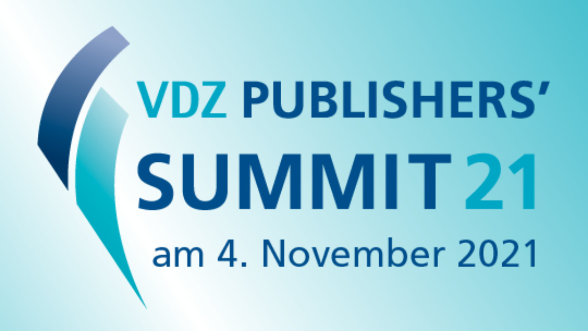 04.11.2021: VDZ Publishers' Summit – Networking is back