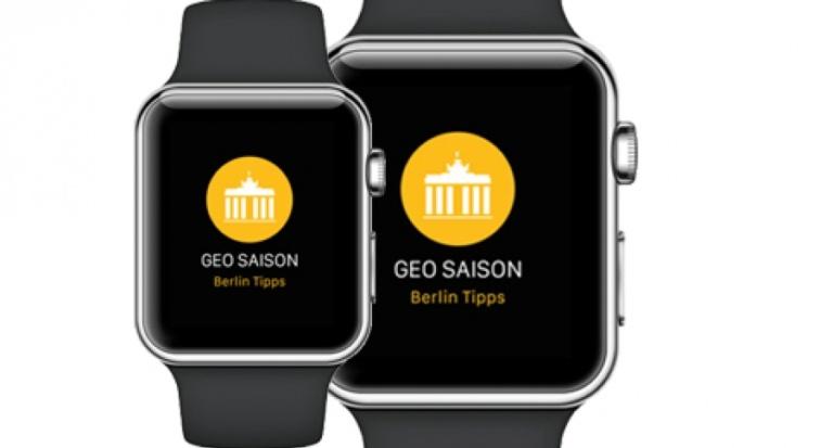 1. WoodWing Apple Watch App: Berlins Ausgehtipps aufs Handgelenk
